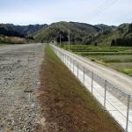 出川地区道路改良工事