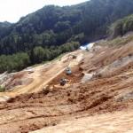 重機土工作業風景
