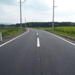 市道二井田寺崎線舗装新設工事